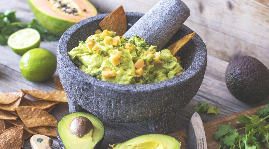 Guacamole dip with Nourishables